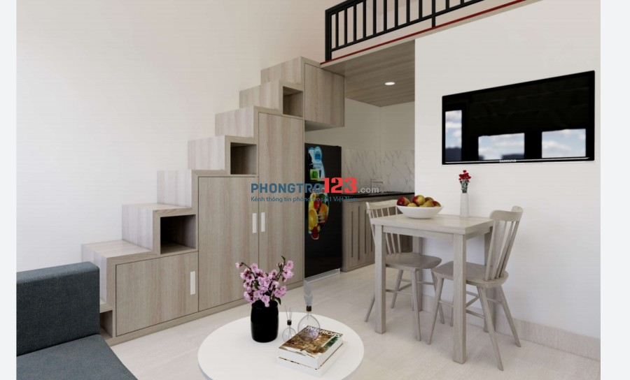 Căn hộ mini Q.Tân Bình-mới xây-Đầy đủ nội thất