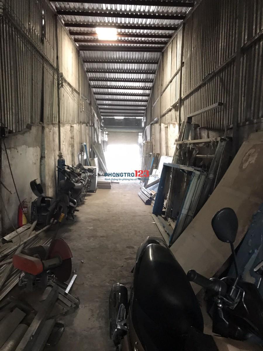 Cho thuê 300m2 kinh doanh kho xưởng tại Trần Văn Giàu, Bình Chánh. Giá 16tr/tháng