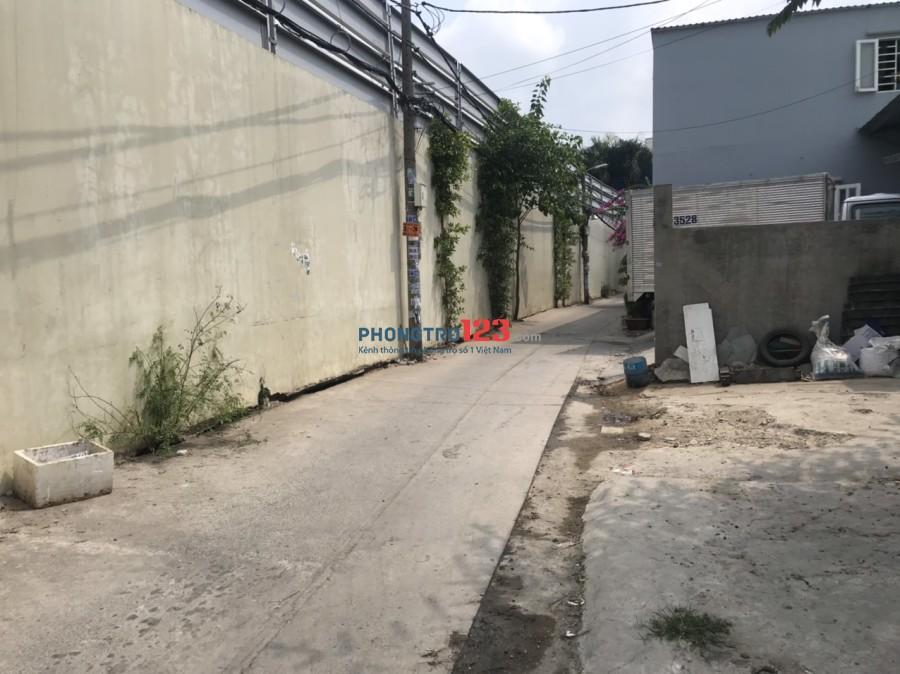 Cho thuê nhà 40m2 hẻm xe tải số 223/9 An Dương Vương, P.An Lạc, Q.Bình Tân. Giá 5tr/tháng