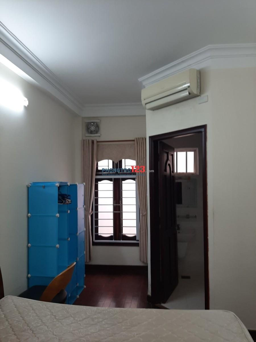 Cho thuê phòng full nt, có ban công rộng gần 30m2