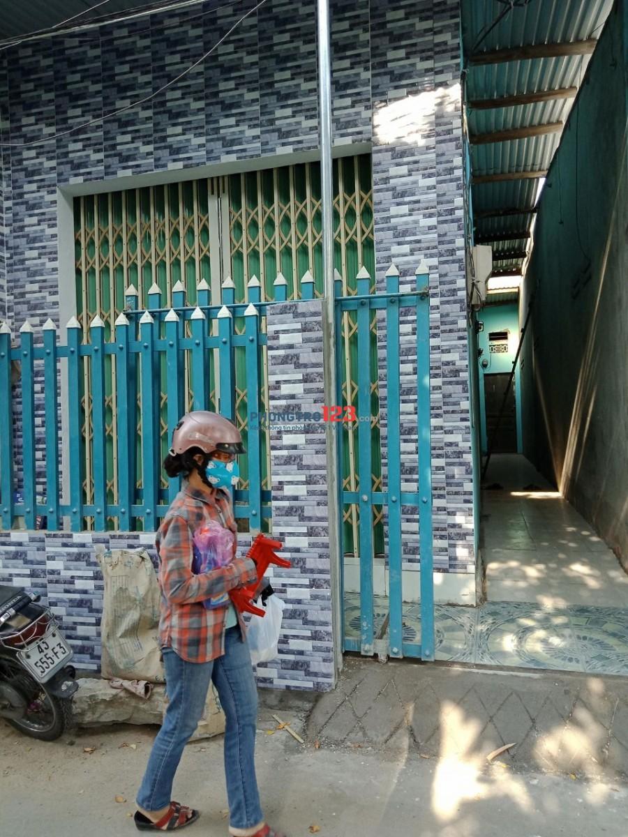 Phòng trọ Liên Chiểu mặt kiệt đường Hoàng Văn Thái
