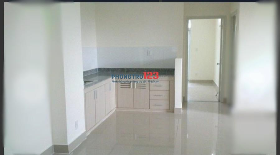 Cho thuê căn hộ 80m2 2pn chung cư 1050 Phan Chu Trinh, Q.Bình Thạnh. Giá 10tr/tháng