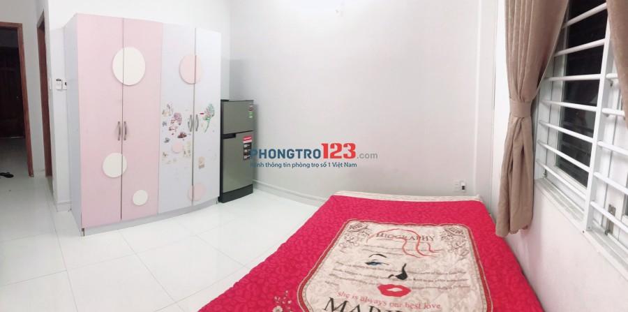 Phòng trọ 25m2 full nội thất 4.2tr/tháng Cách PMH 500m, cách BigC 1KM. LH: 0903758676
