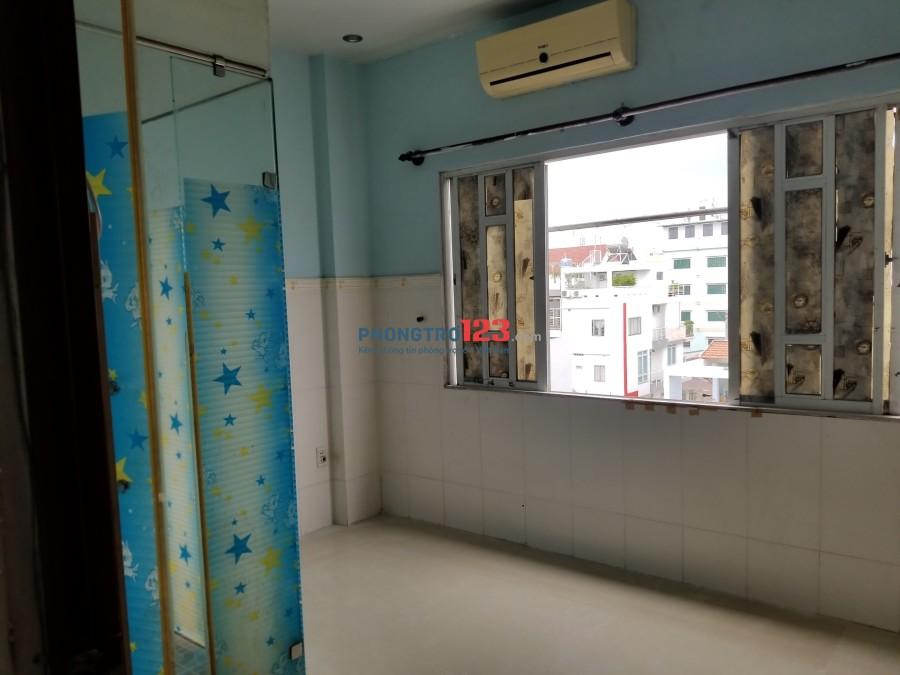 Phòng 15m2-2,2t r có máy lạnh, cửa sổ, wc riêng, tự do giờ giấc, trung tâm Quận 8
