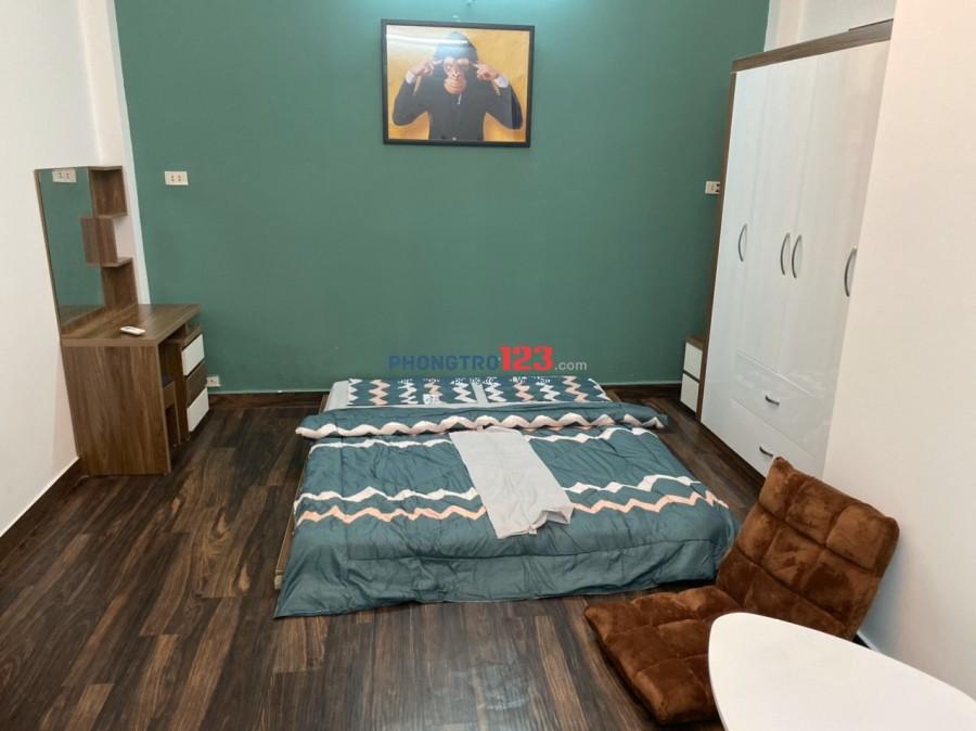 Phòng Full nội thất 25m2 có nhà để xe