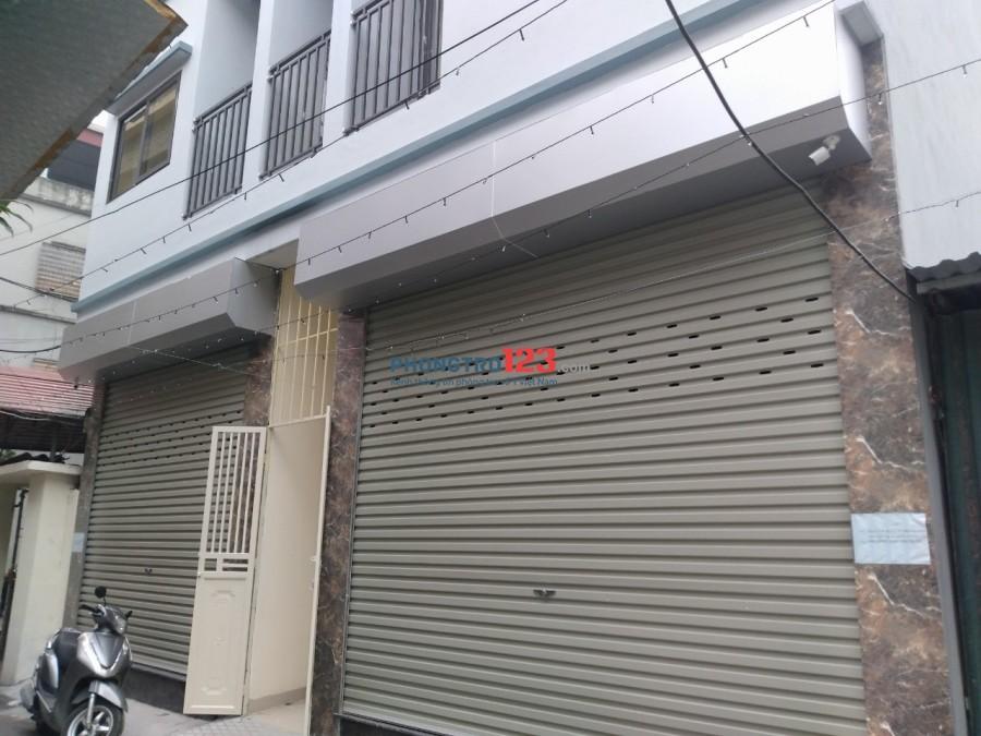 Cho thuê phòng trọ khép kín mới xây có thang máy và cửa hàng kinh doanh ngay cổng Học viện Nông nghiệp
