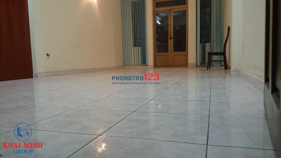 Phòng 40m2, có sân sau, wc riêng- 63S Ung Văn Khiêm, gần Hutech CS2
