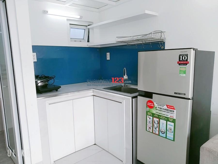 Căn Hộ Mini 1 Phòng Ngủ,Full nội thất, rộng 35m2, ngay tầng trệt- gần cầu Phú Mỹ, gần Big C, PMH, KCX Tân Thuận Quận 7