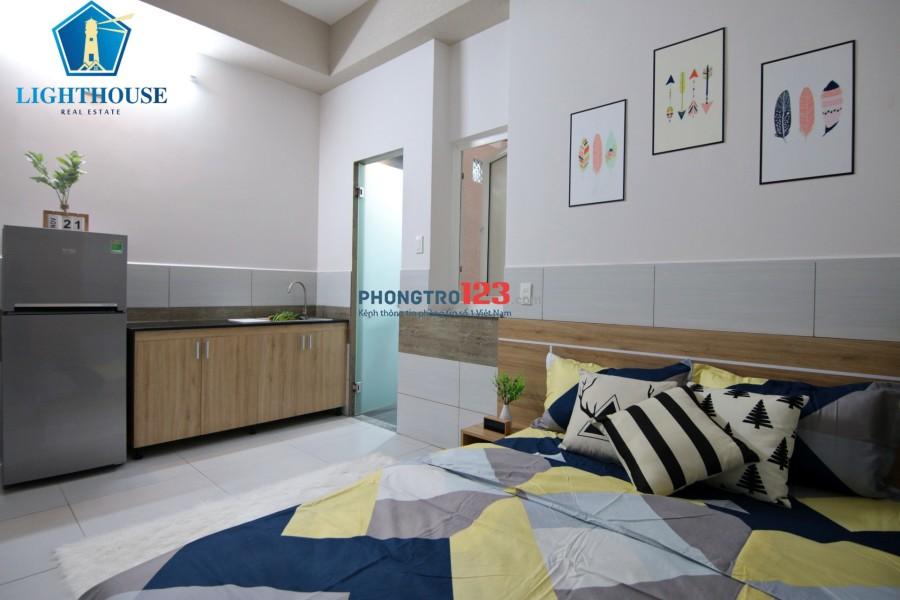Căn hộ 30m2 Full nội thất Ngay Tam Giác Vàng (Công Viên - Chợ - Sân Bay)