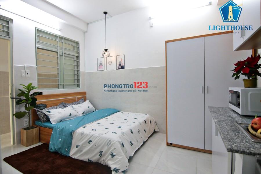 Căn hộ Full nội thất chỉ từ 3.6tr - 4.5tr TT Quận Gò Vấp, Có bảo vệ 24/24