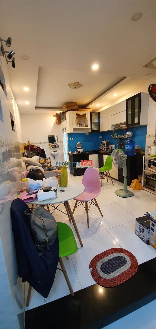 Cho thuê nhà nguyên căn hẻm 290 Nơ Trang Long