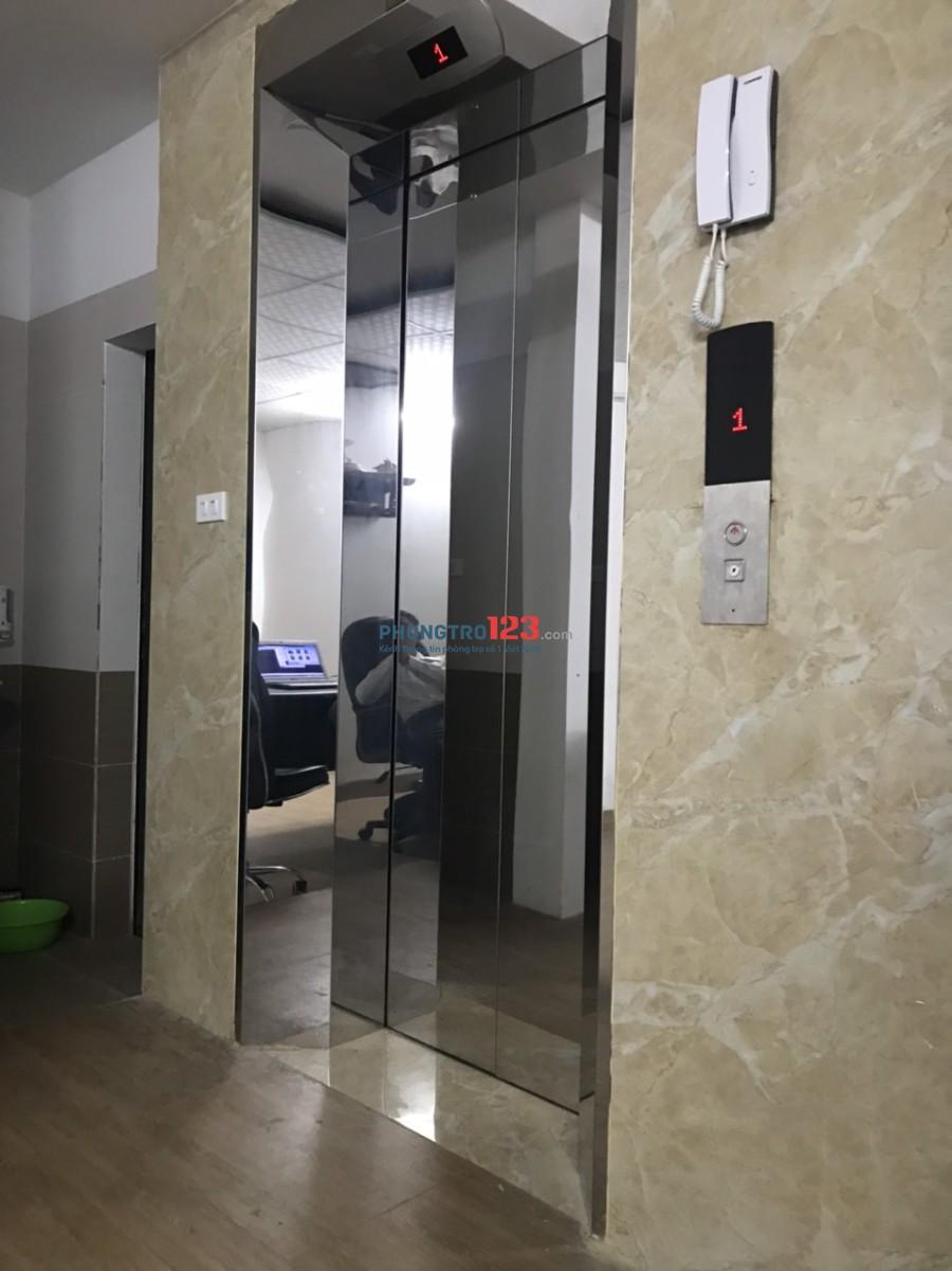 Cho thuê nhà số 8 ngõ 180 đường Trần Duy Hưng 6 tầng nhà mới có thang máy