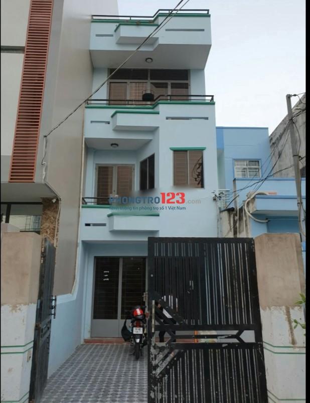 Cho thuê nhà nguyên căn 2 lầu 80m2 đường xe tải tại Bùi Hữu Diện, Q.Bình Tân. Giá 14tr/th