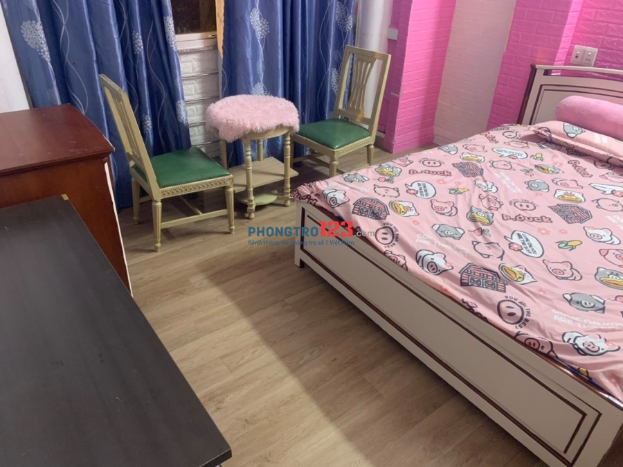 Cho thuê phòng trọ Full nội thất tại số 918 Võ Văn Kiệt, P.10, Quận 5. Gía thuê chỉ từ 4tr - 5tr/tháng
