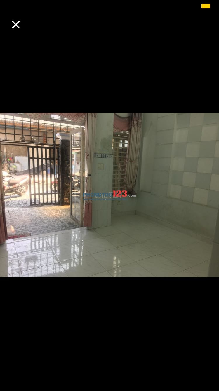 Cho thuê nhà cấp 4 52m2 tại Hóc Môn
