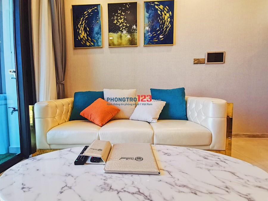 Cho thuê căn hộ Vinhome Ba Son, Q.1 41m2 1pn đầy đủ nội thất cao cấp. Giá 22tr/tháng