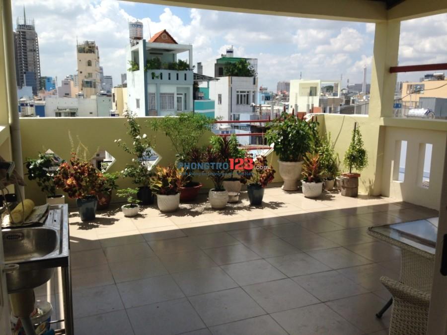 Phòng full tiện nghi, đẹp, an ninh, trung tâm Bình Thạnh