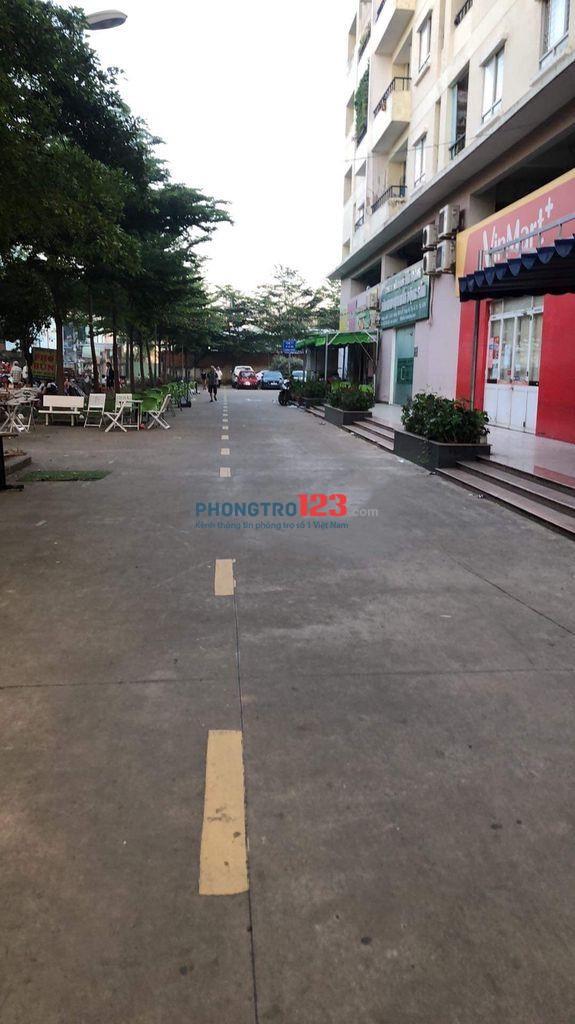 Cho thuê mặt bằng 82m2 tầng trệt Chung Cư Bộ Quốc Phòng Đường TMT 2A, P.TMT, Q.12