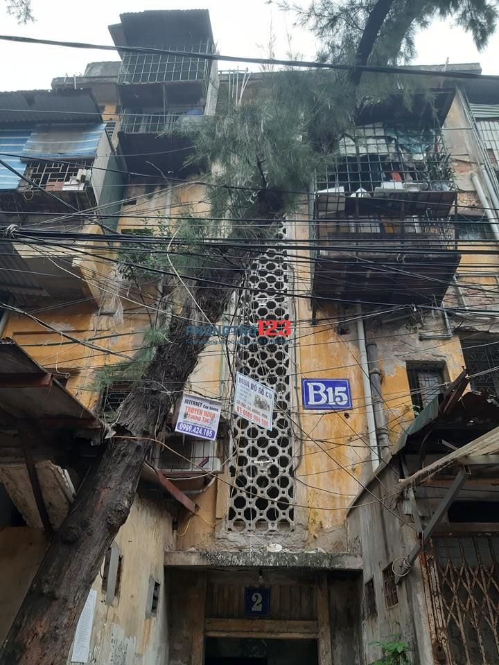 (CHÍNH CHỦ) Cho thuê căn hộ chung cư B15 Kim Liên
