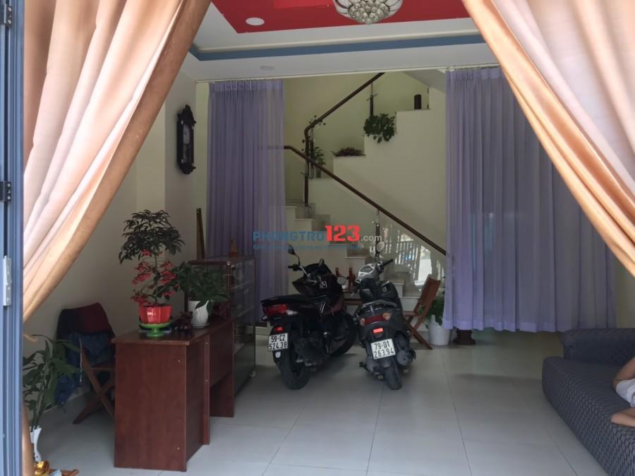 Phòng full nội thất chuẩn khách sạn nhà mặt tiền tại KDC Savimex, P.Phú Thuận, Q.7. Giá từ 3tr/tháng
