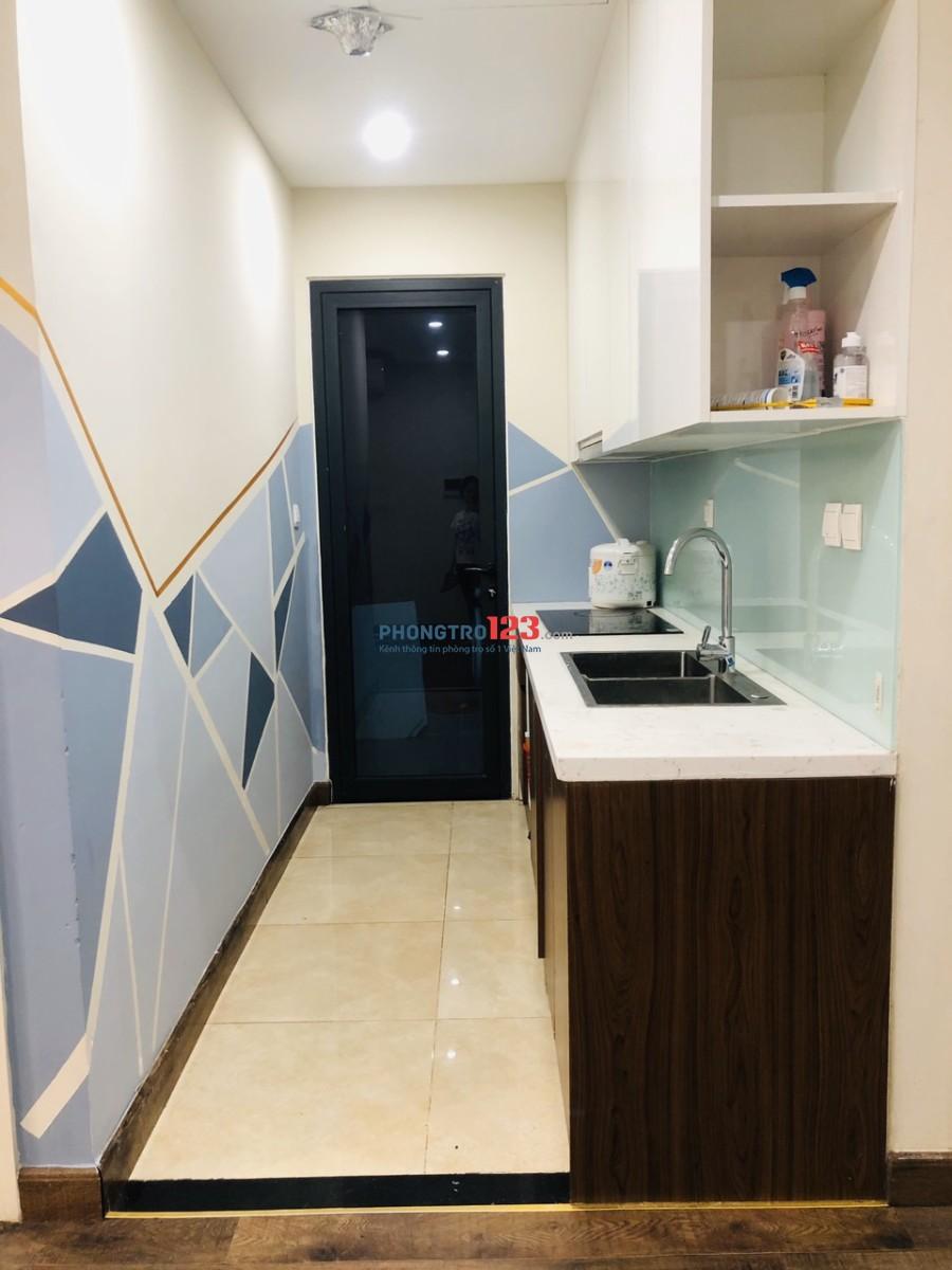 Căn hộ Goldseason 47 Nguyễn Tuân, 3 phòng ngủ, 2 vệ sinh, 1 phòng khách, 1 bếp, full nội thất cao cấp