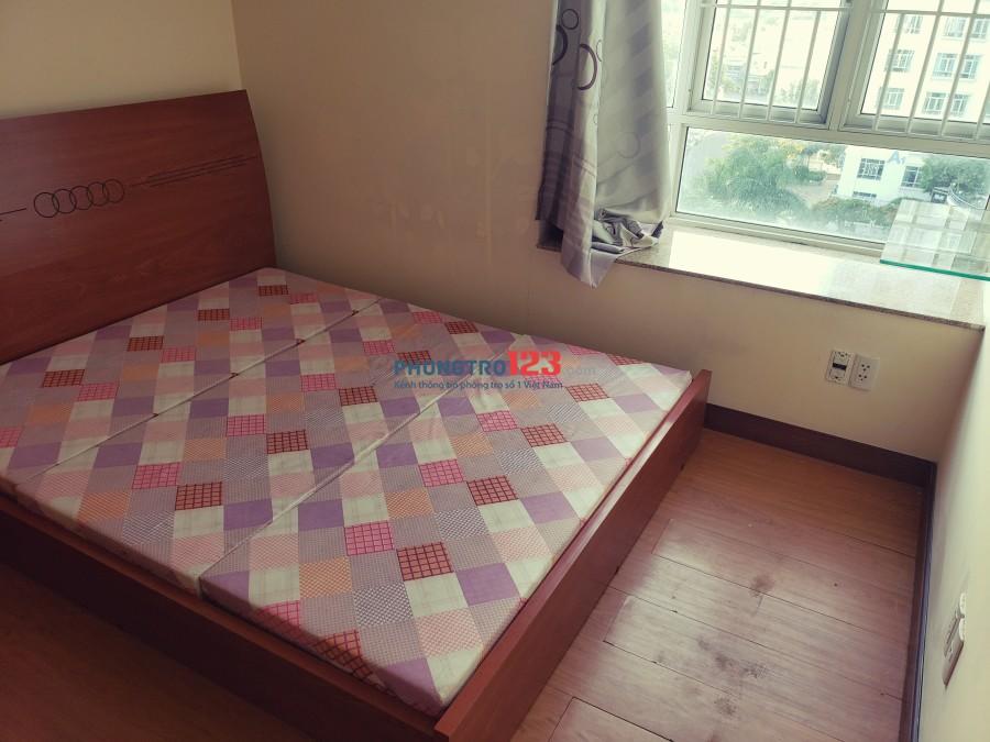 Phòng trọ chung cư full nội thất đầy đủ tiện nghi