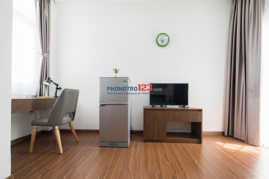 Cho thuê căn hộ dịch vụ cao cấp Goldenhome