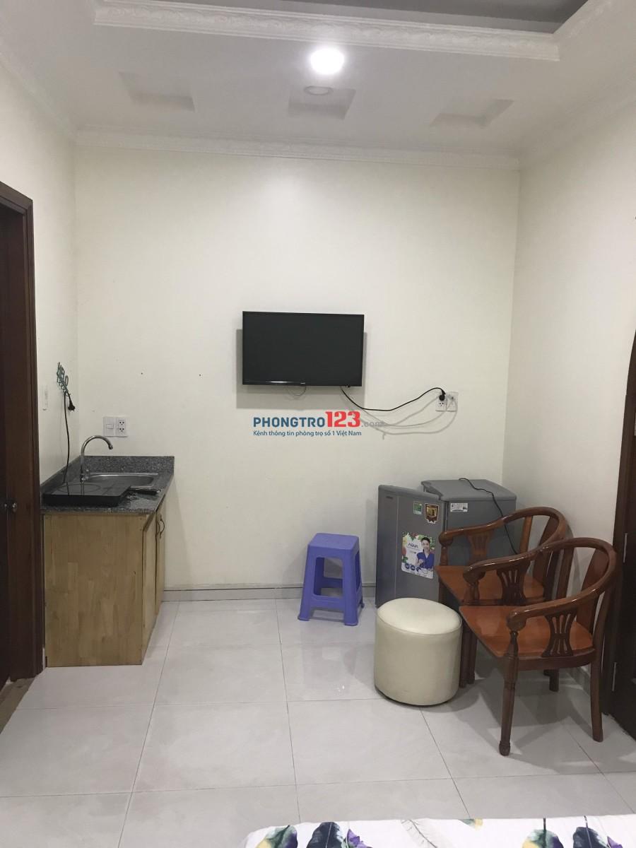 Căn hộ mini đầy đủ tiện nghi ngay Tân Định, đường Trần Quang Khải, Quận 1. DT 25m2 có thang máy