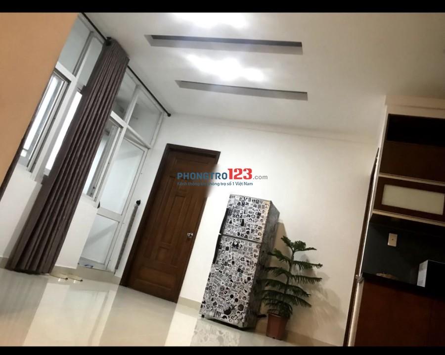 Share phòng 25m2 trong căn hộ chung cư Cao Cấp Quận 4 đẹp giá rẻ