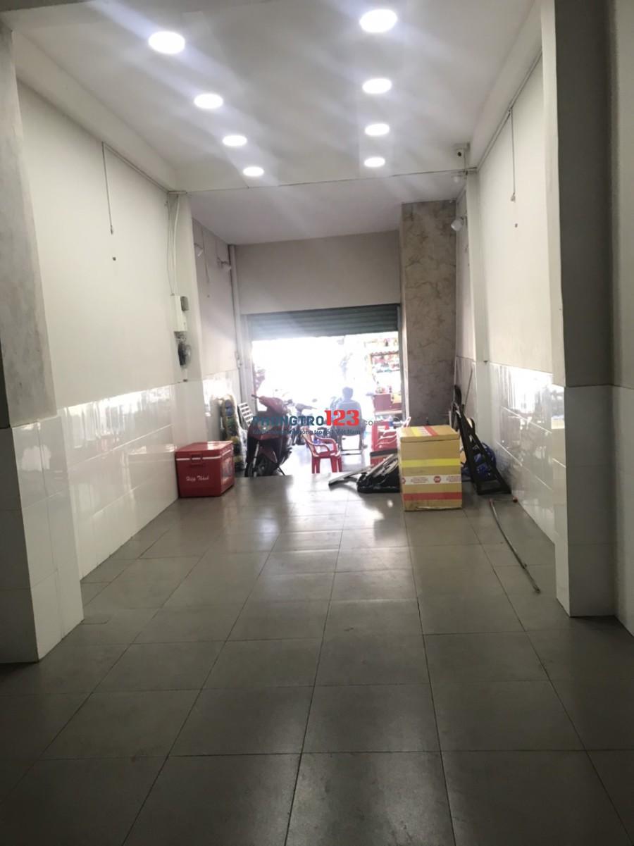 Cho thuê mặt bằng kinh doanh 4x25 mặt tiền 35 Thành Thái, P.14, Q.10 sát Bệnh viện 115