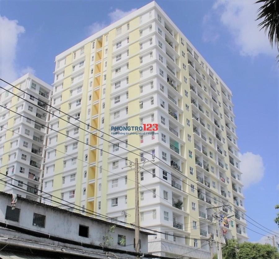 Cho thuê căn hộ Tầng Lửng 48m2 Chung Cư Khang Gia Tân Hương, Q.Tân Phú. Giá 6tr/tháng