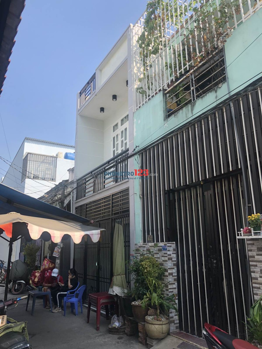 Cho thuê nhà nguyên căn 1 lầu hẻm xe hơi tại Đường 1A, Xã Vĩnh Lộc B, Q.Bình Chánh. Giá 4.5tr