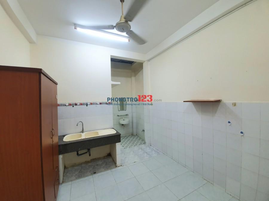 Phòng trọ Thành Thái, Q10 + Full nội thất + bếp riêng + giờ tự do