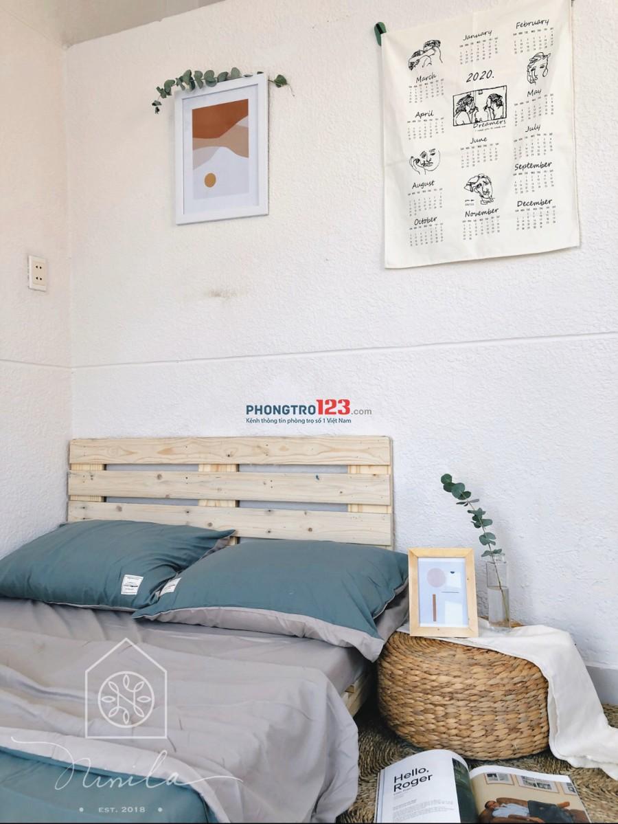 Phòng thiết kế đẹp như hình, 15m2 và hơn 20m2, quận Phú Nhuận