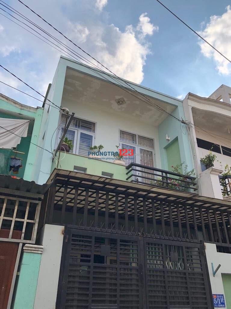 Cho thuê nhà nguyên căn 4x14 Nguyễn Ảnh Thủ gần ngã tư Trung Chánh, Hóc Môn. Giá 5.5tr/th