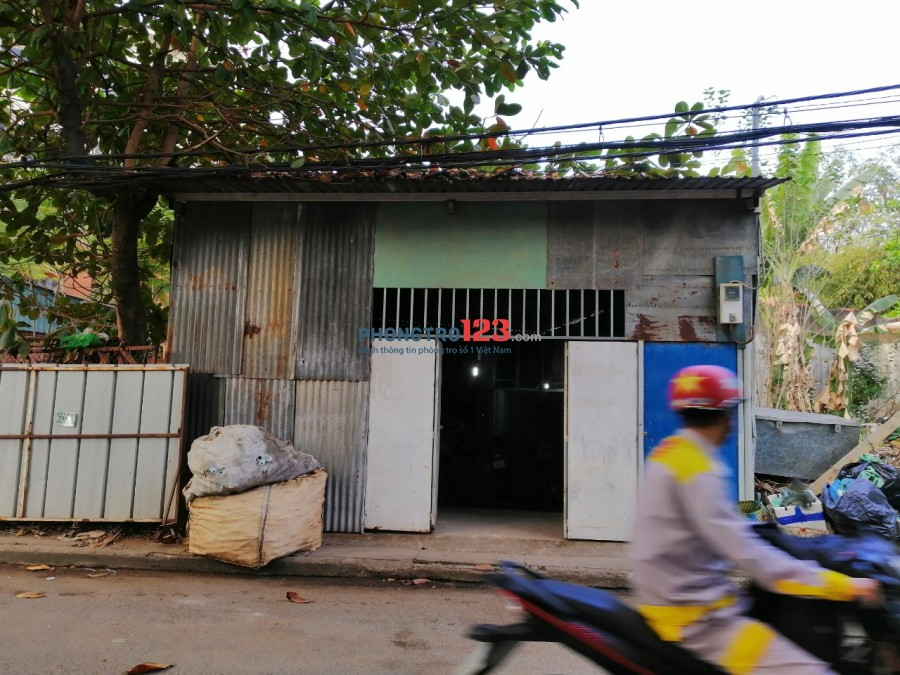 Cho thuê nhà nguyên căn cấp 4 6x15 đường 6m tại QL1A, P.Linh Trung, Q.Thủ Đức