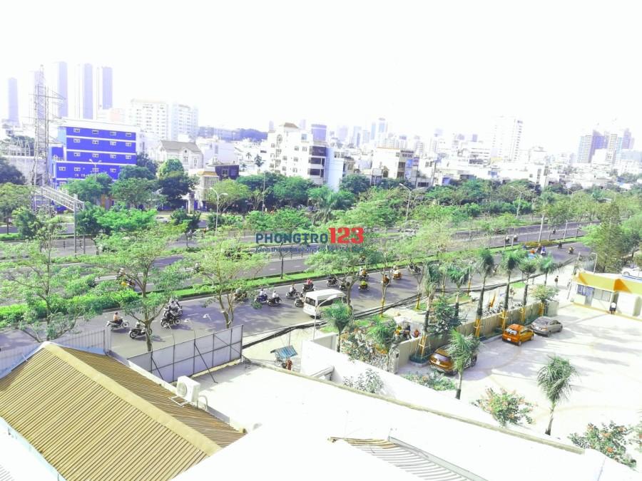 Nhà 9 phòng, 1 mặt bằng, sát mặt tiền Điện Biên Phủ, gần ĐH Hồng Bàng