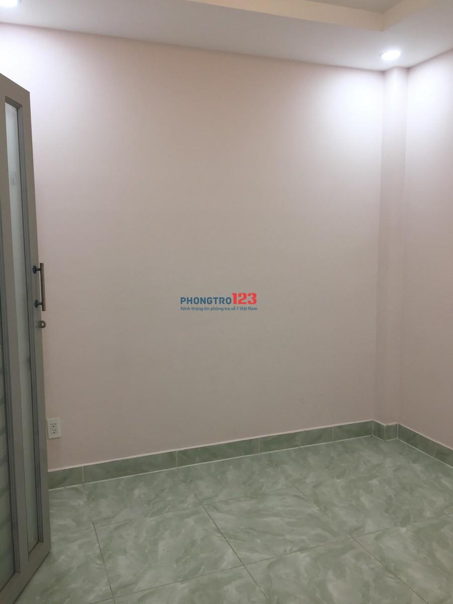Phòng trọ quận Tân Bình mới xây, khu vực an ninh