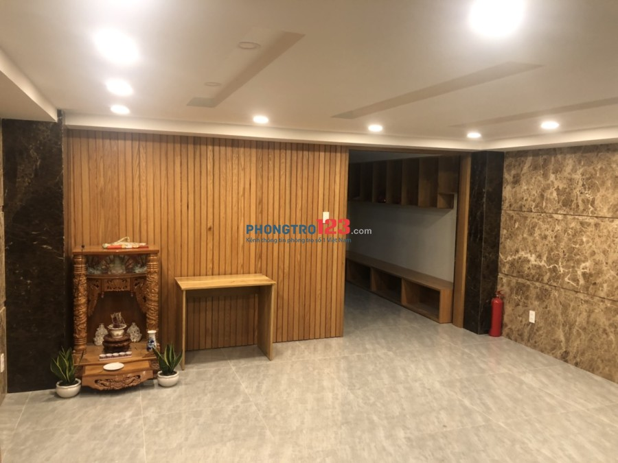 Cho Thuê Phòng Ở Cao Cấp Tại Hoàng Sa, Quận 3. Trung Tâm Thành Phố giá từ 6.5tr-7tr, có hầm để xe riêng