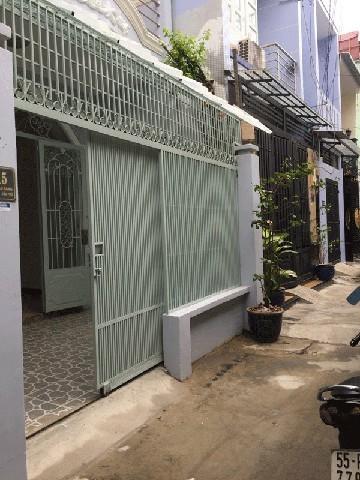 Nhà cho thuê nguyên căn quận Tân Phú