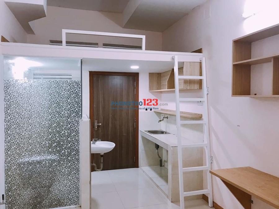 Phòng Trọ Đường Nhất Chi Mai, Tân Bình có gác, nội thất đẹp, gần EtownCH