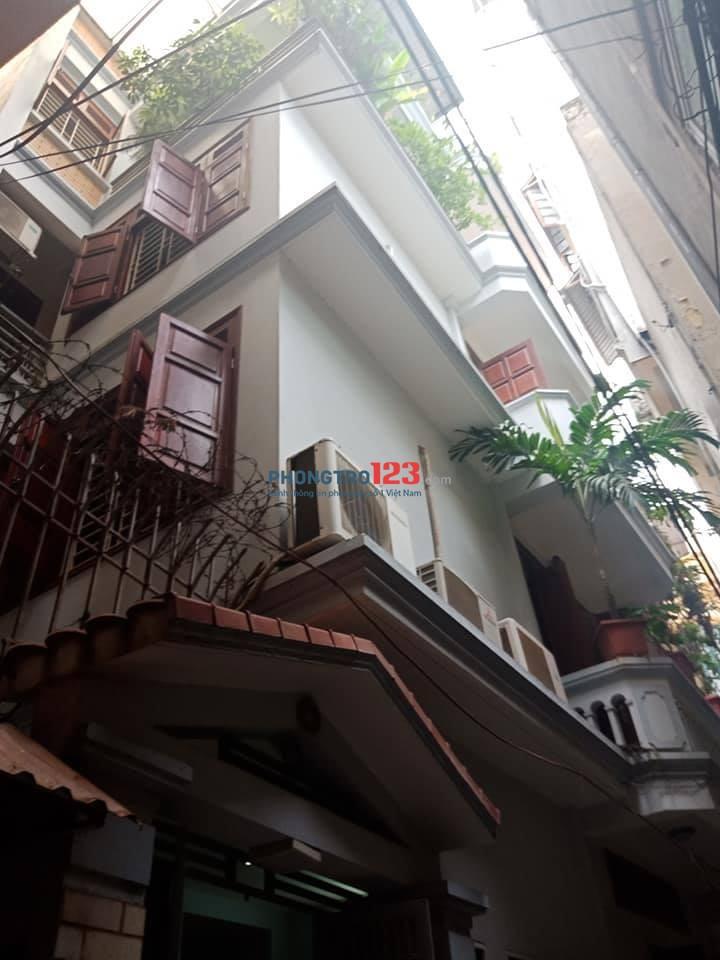 Cho thuê cả nhà 5 tầng ngõ 167 Thái Hà