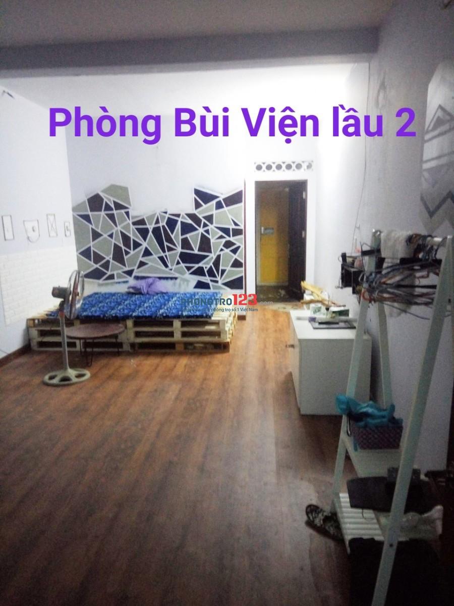 Cho thuê MB Tầng 1 Nhà mặt tiền Đề Thám, Q.1 và CHDV Full nội thất Bùi Viện, Q.1 Mr Danh