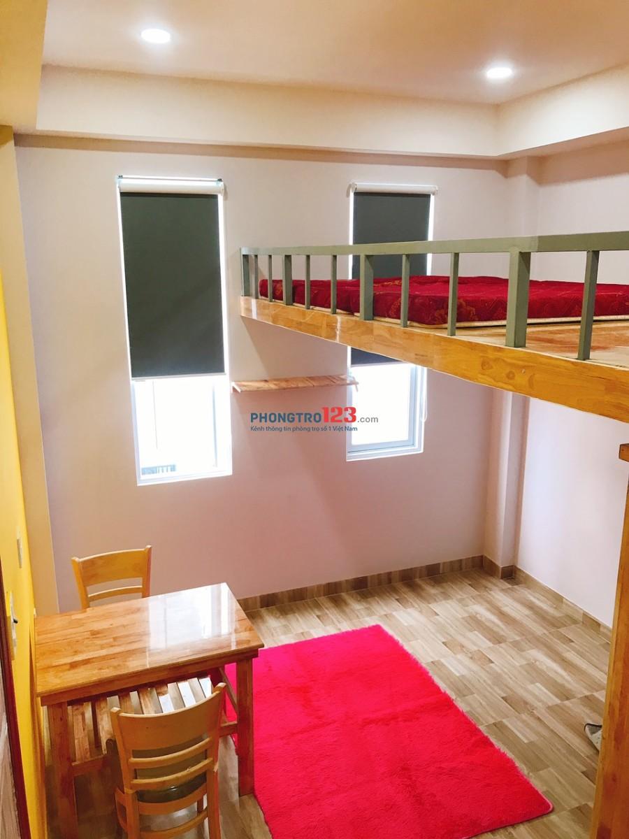 Cho thuê phòng có gác, mới tại 558 Phạm Văn Đồng (gần cầu Bình Lợi)