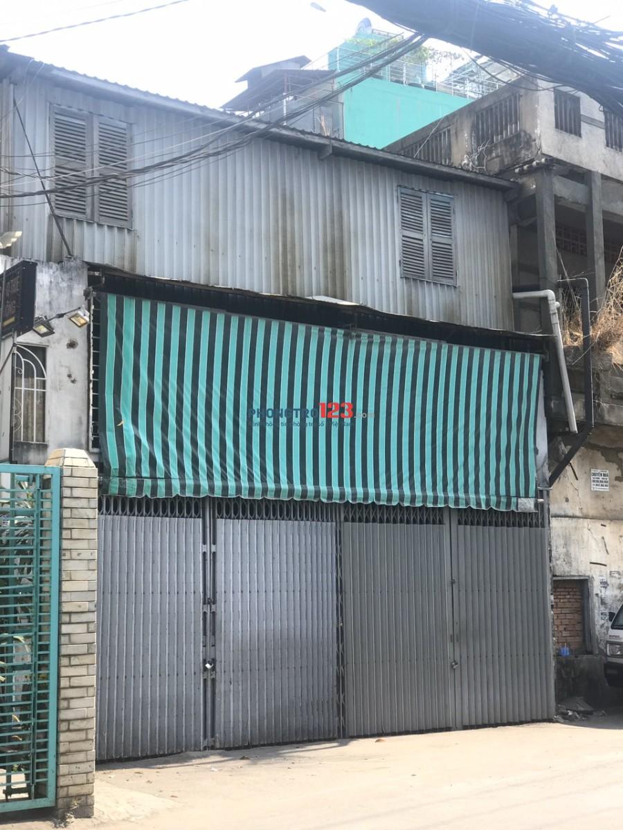 Cho thuê nhà cấp 4 DT 300m2 kinh doanh kho xưởng Đường 6m tại Nguyễn Văn Luông, Q.6