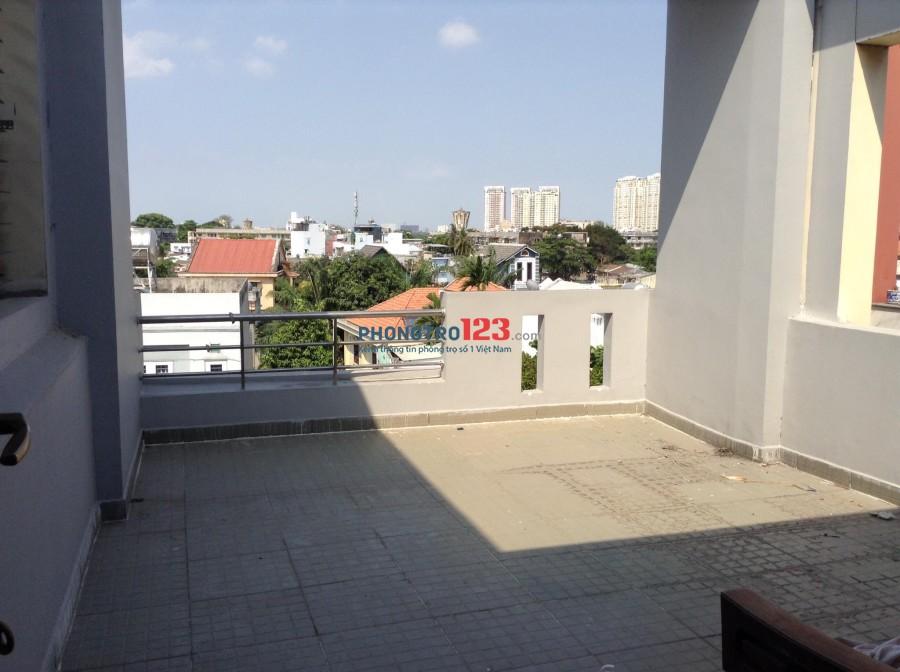 Nhà mặt tiền, HXH, 4T, 6PN, 4WC, 87m2, giá 25 triệu