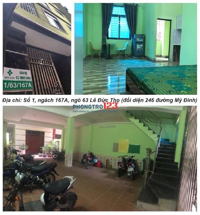 Cho thê căn hộ - 1 phòng ngủ - Giá rẻ