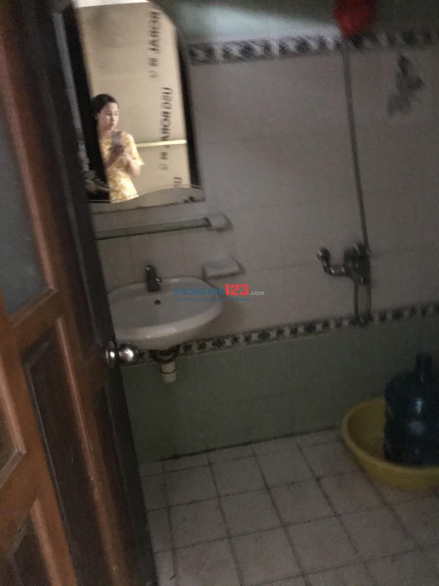 Cho nữ thuê phòng ngay trung tâm Phú Nhuận
