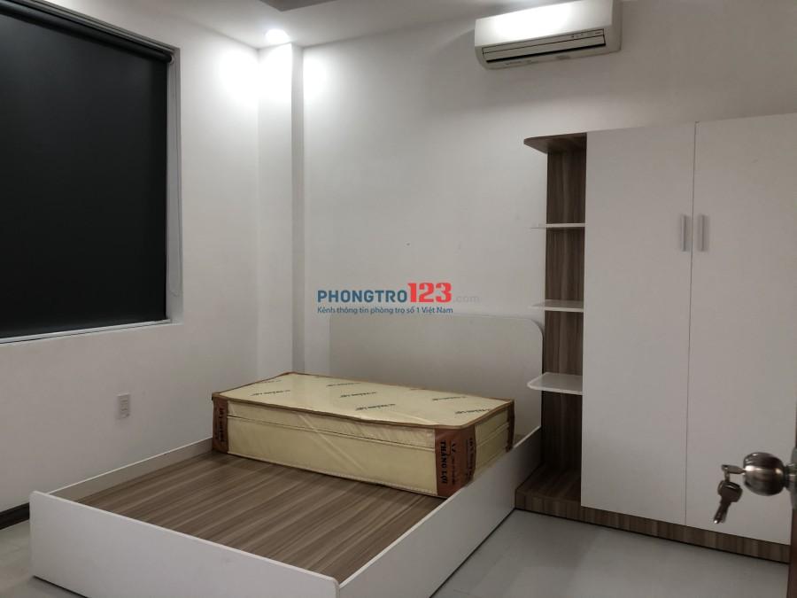 Cho thuê căn hộ mini 50m2 full nội thất, Âu Cơ, Tân Bình