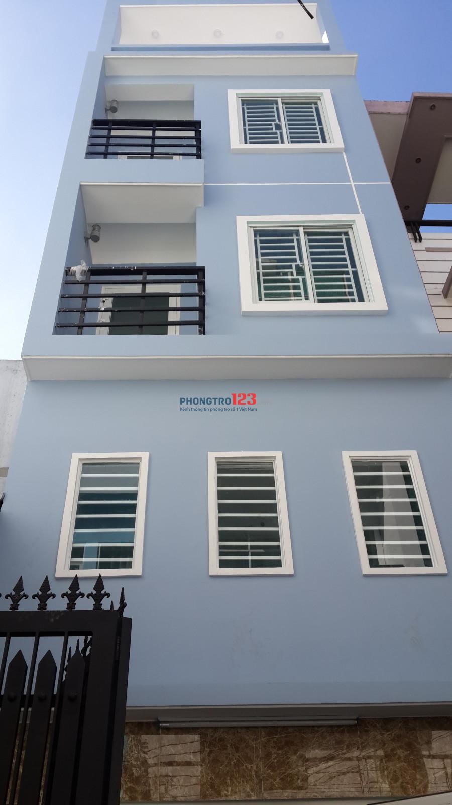 Phòng 25m2 mới đẹp có ban công, cửa sổ thoáng mát + máy lạnh
